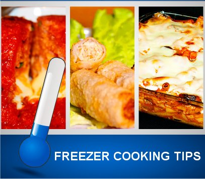Freezer Cooking Tips