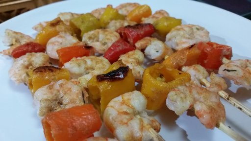 shrimp-veggie-skewer